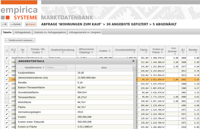 analyst_homepage_screenshot_tabelle
