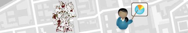 Immobilienmarktdaten für Portfoliomanagement und Assetmanagement. Umkreismieten für viele Standorte mit einem Klick - mit dem empirica-systeme Analystfeature Portfoliostandortlisten