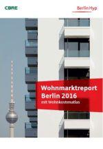 Wohnmarktreport Berlin 2016 (Deckblatt)