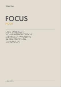 Deckblatt Quantum FOCUS NO.21 (Quelle: Quantum AG)